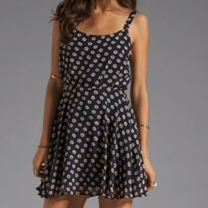 Navy Daisy Dress from Urban Outfitters